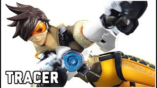 Figma 352 Overwatch Tracer Action Figure Review Good Smile Company MAX FACTORY