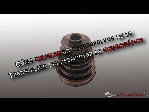 🔧CÓMO instalar un GUARDAPOLVOS de la TRANSMISIÓN sin desmontar la HOMOCINÉTICA | (En español)
