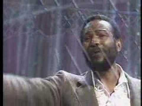 "Marvin Gaye's isolated vocal track on the song ""I Heard It Through The Grapevine"""