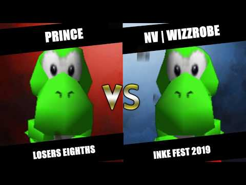 Inka Fest 2019 - Prince (Yoshi) Vs. ENVY | Wizzrobe (Yoshi) SSB64 Losers Eighths