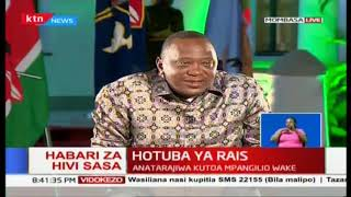 President Uhuru:  My friend for those kind of infrastructural development, I will continue to borrow
