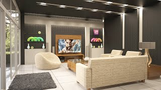 learn 3D Max Tutorial in Hindi for beginners | Living Room Design Lesson 1 | Allrounder Bhai