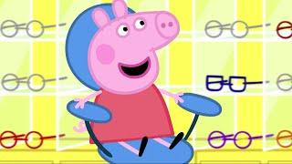 Peppa Pig Świnka Peppa po Polsku najlepsze odcinki - Badanie wzroku