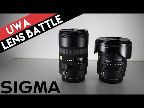 Ultra-wide angle lens battle: Sigma 8-16mm vs. 10-20mm Hands-on Review