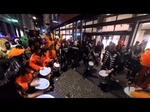 Samba band Batida Mestreech en Bateria Volle Petaj-Part1