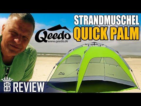 Qeedo Quick Palm Strandmuschel - Schnell, Stabil & UV Schutz Review