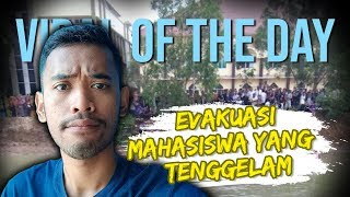VIRAL HARI INI: Video Evakuasi Maba UIN Lampung yang Tewas Tenggelam di Embung saat Ulang Tahun