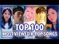 TOP 100 MOST VIEWED K POP SONGS OF 201