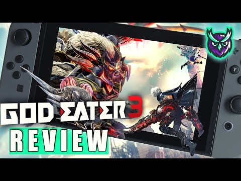 God Eater 3 Nintendo Switch Review