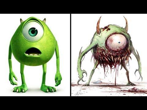 Asi Se Verian Estos 10 Personajes Animados Si Fueran Zombies
