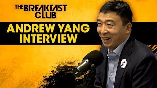 The Breakfast Club - Andrew Yang Talks Universal Basic Income, Benefitting From Tech, His Run For President + More