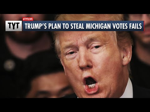 Trump's Attempt To Throw Out Michigan Votes IMPLODES