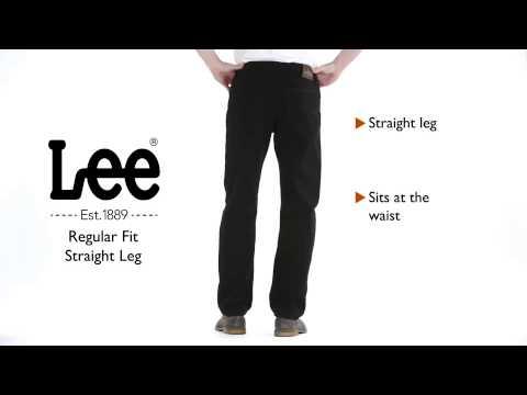 Lee Jeans - Regular Fit Straight Leg Jean