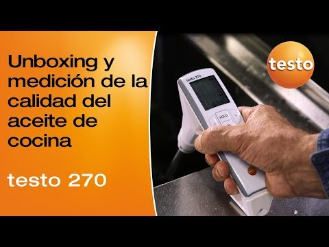 Video unboxing y prueba del testo 270
