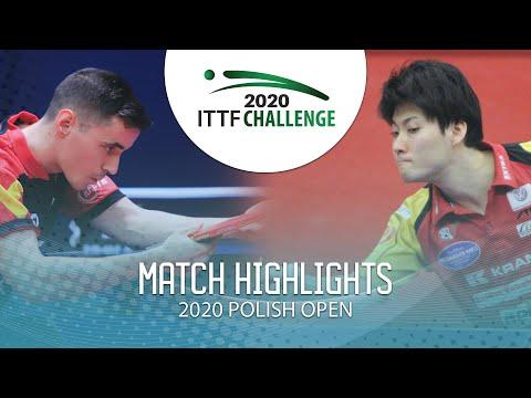 [2020 ITTF Polish Open] Carlos Franco vs Satoshi Aida 2020.3.12