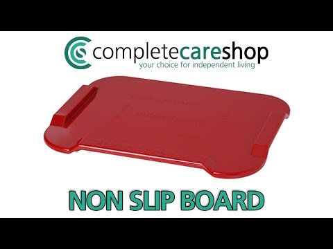 Using The Non Slip Spread Board