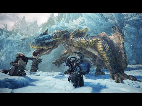 Monster Hunter World Iceborne: Tigrex Boss Fight