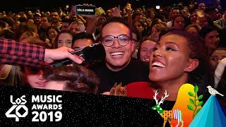 Localizamos al mayor fan de Rosalía | Red Carpet LOS40 Music Awards 2019