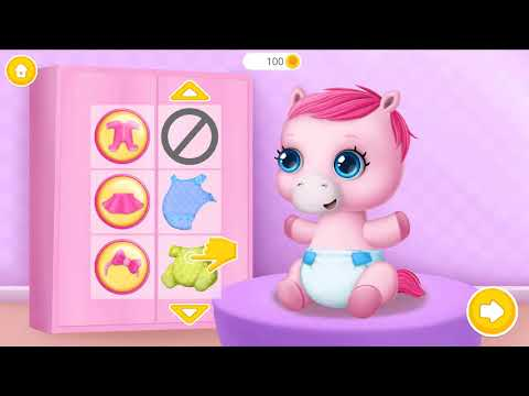 Pony Sister Baby Care - Fun Kids Game by TutoToons