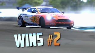 Racing Games WINS Compilation #2 (Epic Moments, Stunts & Close Calls) [+GTA]