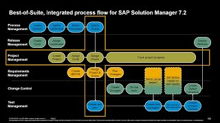 SAP Solution Manager – Integrated Process Flow