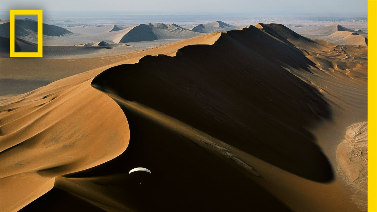 This Awesome Photographer Paraglides to Take Extreme Desert Pictures