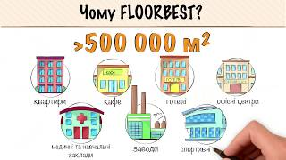Doodlevideo для рекламы компании напольных покрытий Floorbest
