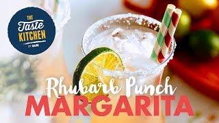This Rhubarb Margarita recipe from Jonny Brownlee has us wanting to rhumba