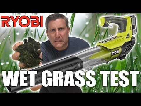 Ryobi 18v One+ Cordless Jet Fan Leaf Blower – Review & Demo