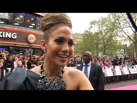 Jennifer Lopez unveils The Back-Up Plan in London