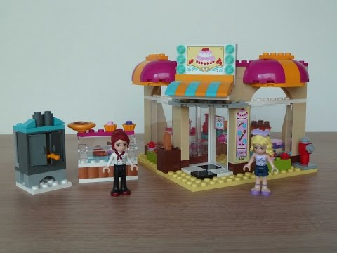 Vidéo LEGO Friends 41006 : La boulangerie de Heartlake City