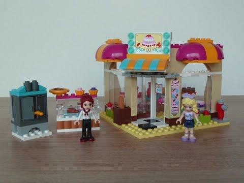Vidéo LEGO Friends 41006 : La boulangerie de Heartlake City
