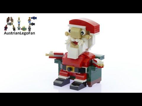 Vidéo LEGO Saisonnier 40206 : Père Noël LEGO