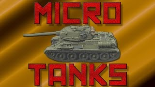 GHQ Micro Armour T-34/85s [1:285th scale]