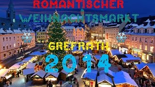 preview picture of video 'Weihnachtsmarkt Grefrath 2014'