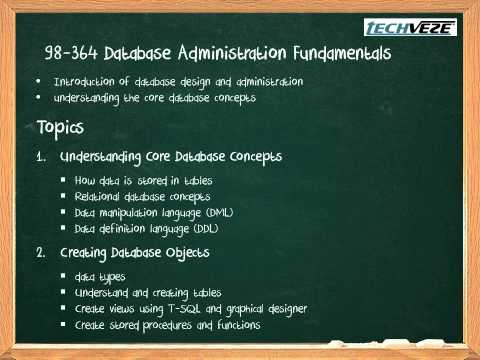 EXAM 98-364 DATABASE FUNDAMENTALS PDF