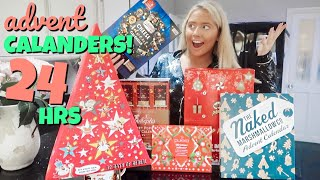 I only ate ADVENT CALENDAR foods for 24hours!!
