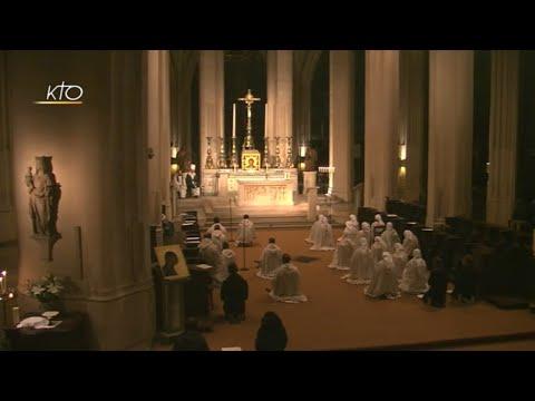 Vêpres et eucharistie présidée par Mgr Aupetit