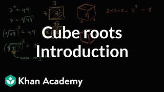 Introduction To Cube Roots
