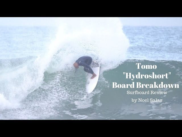 "Tomo ""Hydroshort"" Surfboard Attributes, and Model Comparisons by Noel Salas Ep.89"
