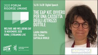 Youtube: Keynote Speech | THE EAP KIT, OVVERO PER UNA CASSETTA DEGLI ATTREZZI DUTTILE | Welfare & Wellbeing Day | Forum delle Risorse Umane 2020