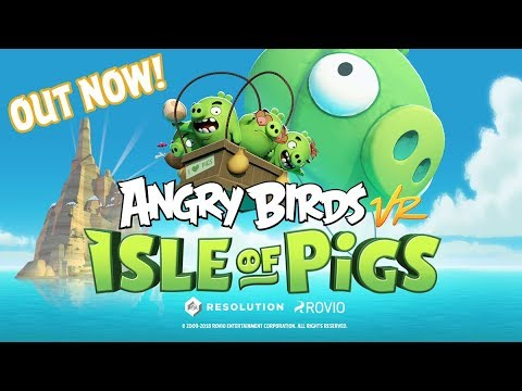 Angry Birds VR: Isle of Pigs Launch Trailer thumbnail