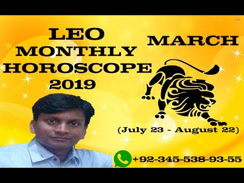 Leo March Monthly Horoscope 2019 Leo March 2019 Forecast In Urdu Dr
