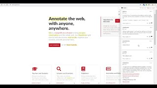 Introduction to Web Annotation with Hypothesis