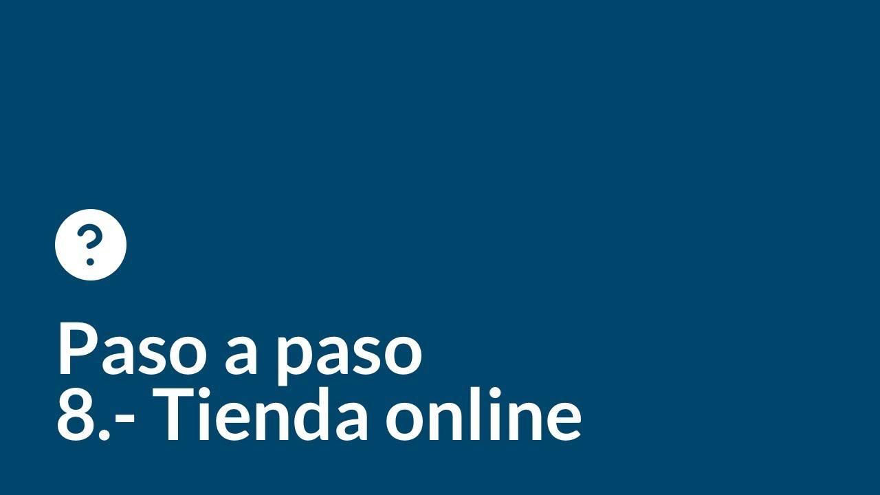 Crea tu web desde cero paso a paso   Capítulo 8   Tienda online