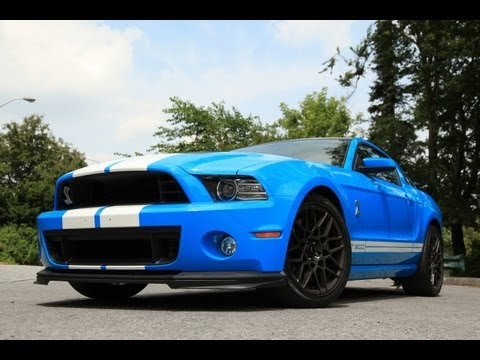 2013 Ford Mustang Shelby GT500 Track Apps