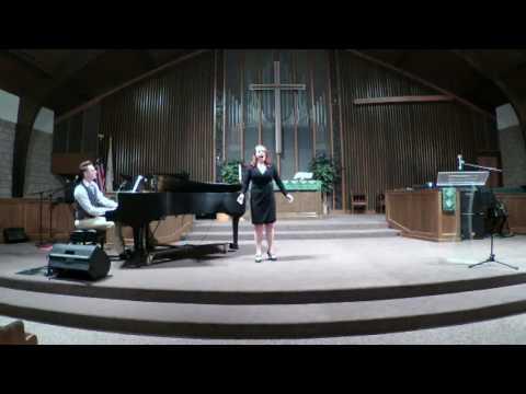 "Elizabeth Hood performing ""Silver Aria"" from Ballad of Baby Doe by Douglas Moore."