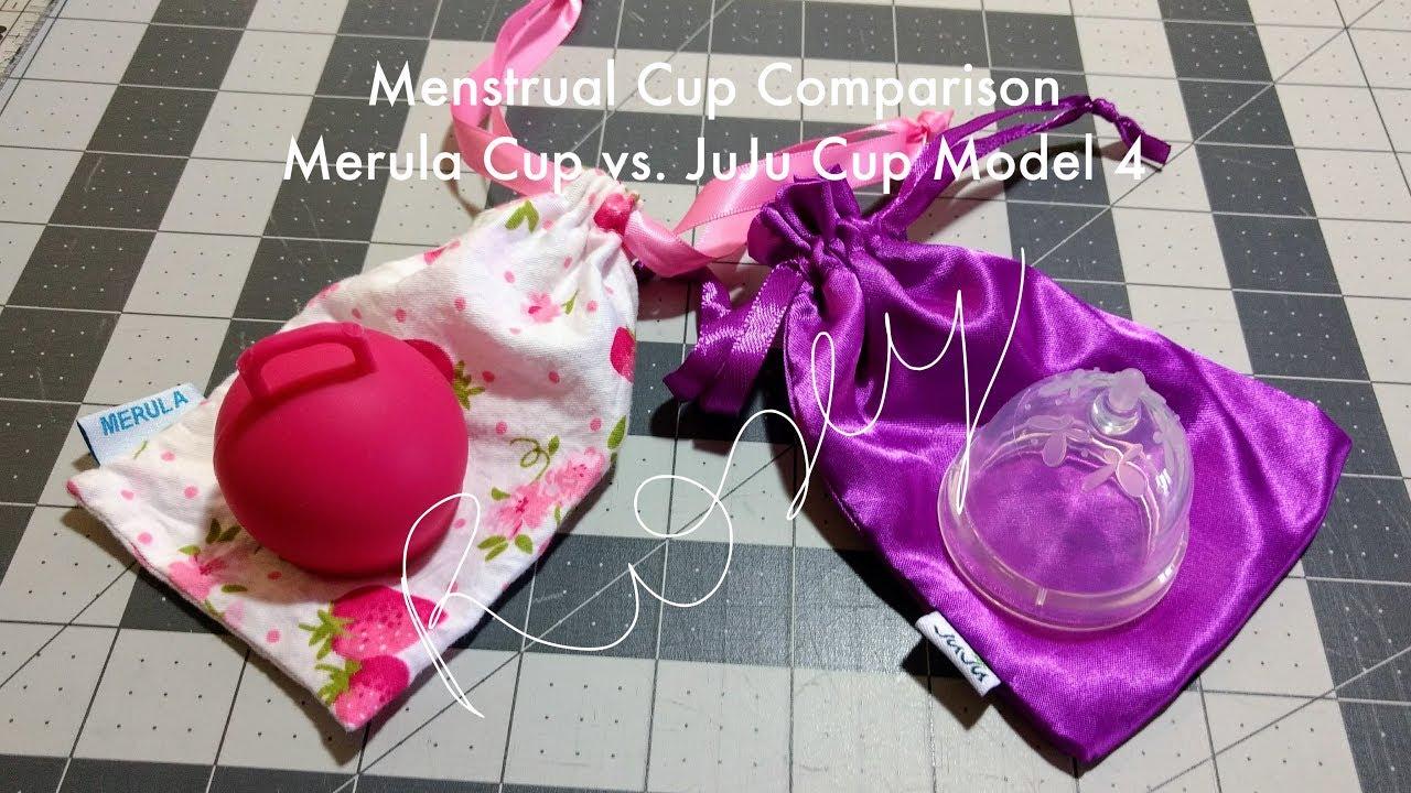 JuJu Cup Model 4 vs. Merula Cup (Menstrual Cup Comparison)