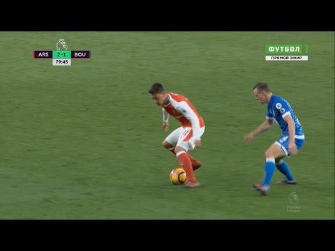 Mesut Özil skills show vs Bournemouth (2016/2017) 1080i