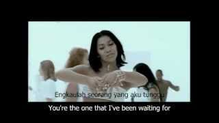 Anggun - Yang Ku Tunggu with English Subtitle